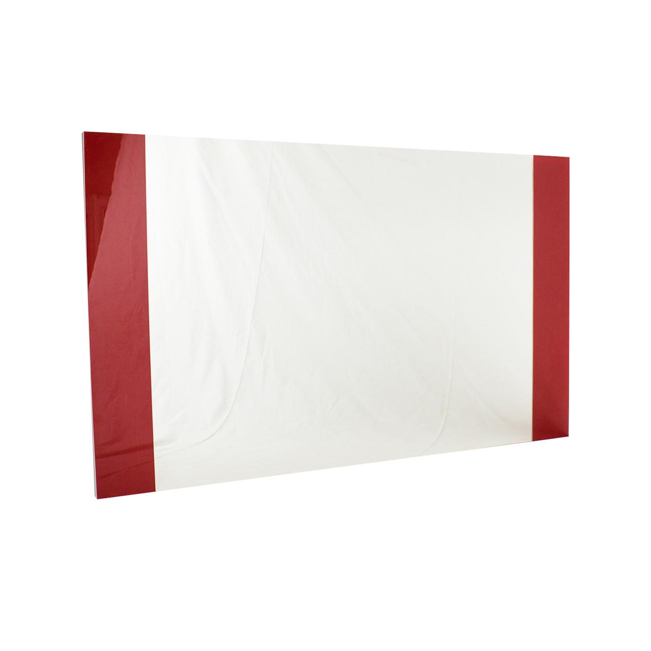 Зеркало для ванной Бали 100 с красными вставками