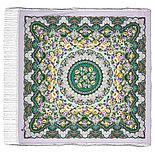 Павлопосадский платок Дождь 1779-9 (135х135 см), фото 7