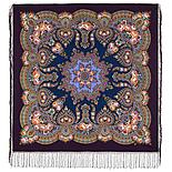 Павлопосадский платок Пламень сердца 1786-8 (135х135 см), фото 4