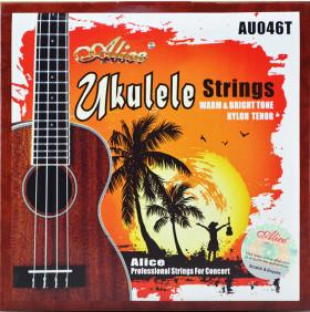 Комплект струн для укулеле тенор, Alice AU046-T