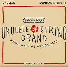 Комплект струн для укулеле сопрано, Dunlop DUQ201 Student