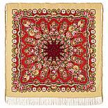 Павлопосадский платок Южное солнце 1652-4 (135х135 см), фото 2