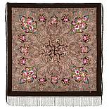 Павлопосадский платок Чародейка зима 1749-3 (135х135 см), фото 5