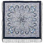 Павлопосадский платок Чародейка зима 1749-3 (135х135 см), фото 3