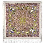 Павлопосадский платок Чародейка зима 1749-3 (135х135 см), фото 7