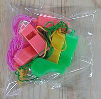 Свистки (6 шт в упаковке)