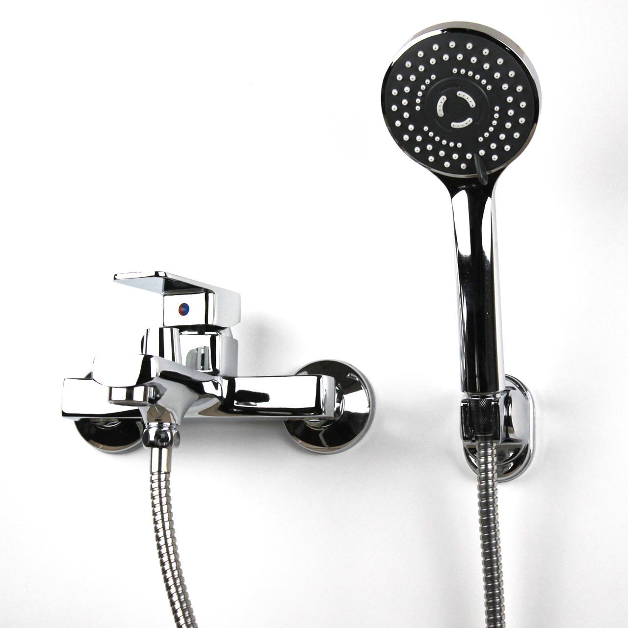Смеситель настенный для душа/ванны с коротким гусаком GL347