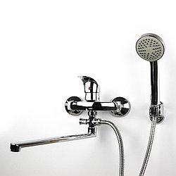 Смеситель для душа/ванны с длинным гусаком (30 см.) GLORIA GL354