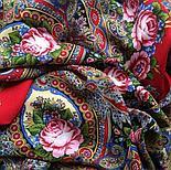 Павлопосадский платок Русское раздолье 1619-5 (135х135 см), фото 2