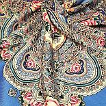 Павлопосадский платок Русское раздолье 1619-5 (135х135 см), фото 5