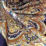 Павлопосадский платок Русское раздолье 1619-5 (135х135 см), фото 8