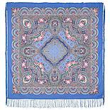 Павлопосадский платок Русское раздолье 1619-5 (135х135 см), фото 4
