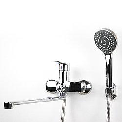 Смеситель для душа/ванны  с длинным гусаком (34 см) GLORIA GL362