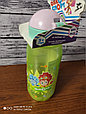Детская бутылочка с трубочкой спорт Фиксики спорт, фото 7