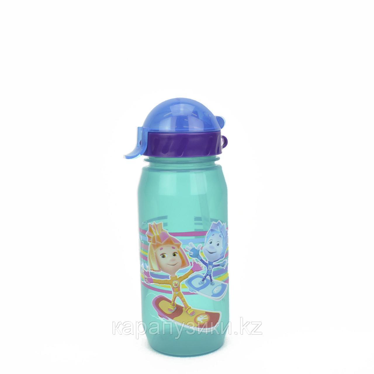 Детская бутылочка с трубочкой герои фиксики