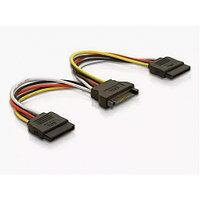 Кабель Cable Power SATA-2*SATA (Блок питания SATA/m на 2*SATA/f, 15cm x2, 15 см)
