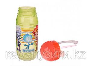 Детская бутылочка с трубочкой Фиксики нолик игрек
