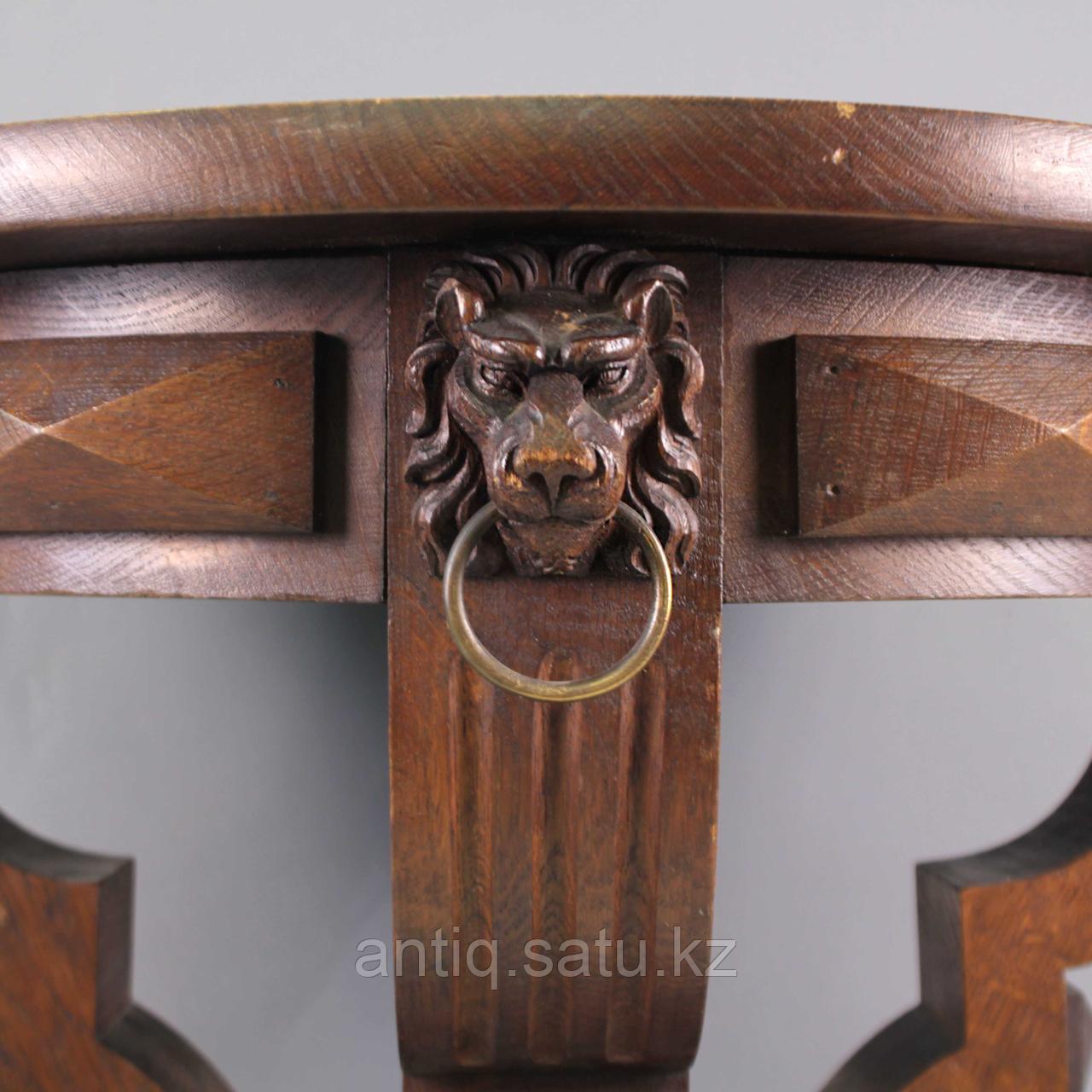 Журнальный столик со львами. Франция. Конец XIX - начало XX века - фото 7