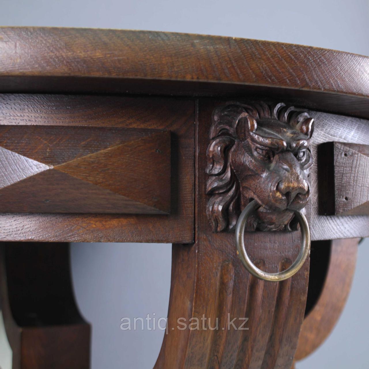 Журнальный столик со львами. Франция. Конец XIX - начало XX века - фото 8