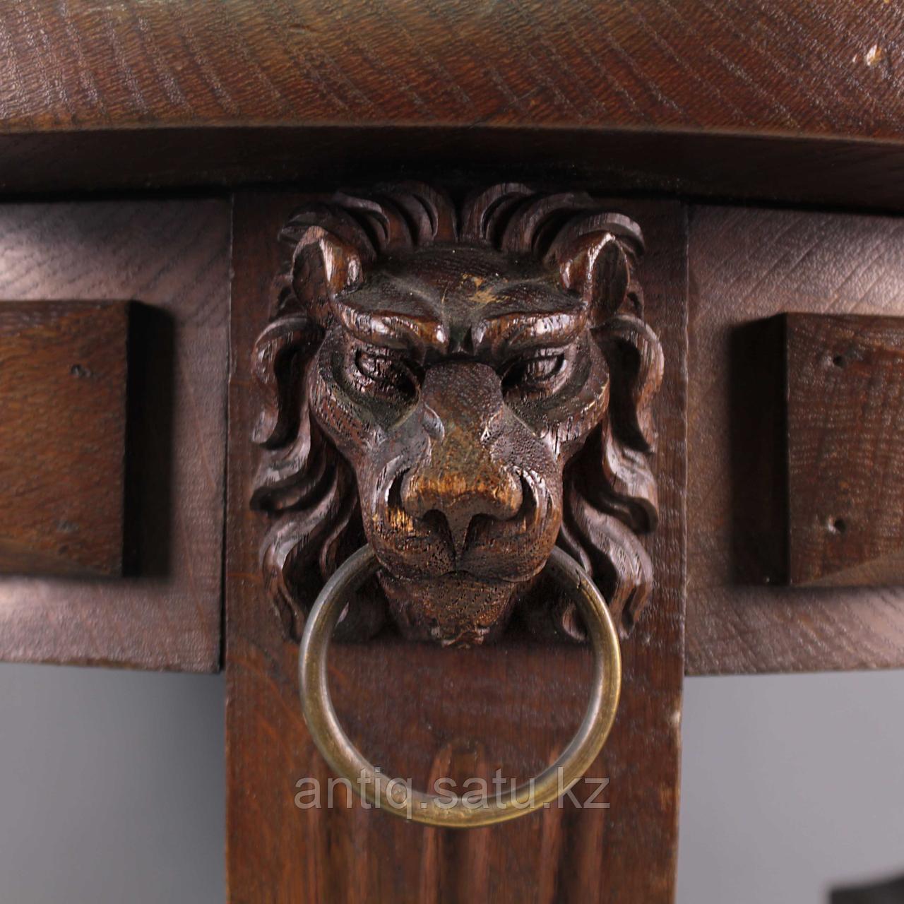 Журнальный столик со львами. Франция. Конец XIX - начало XX века - фото 9