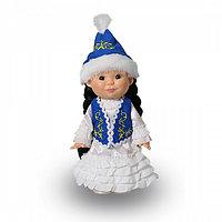 """Весна Кукла """"Веснушка"""" Девочка в казахском костюме, 26 см."""