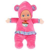 Карапуз Мягкая игрушка Кукла Дашенька для сладких снов, 28 см, 3 песенки
