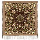Павлопосадский платок Праздник огня 1739-2 (135х135 см), фото 3