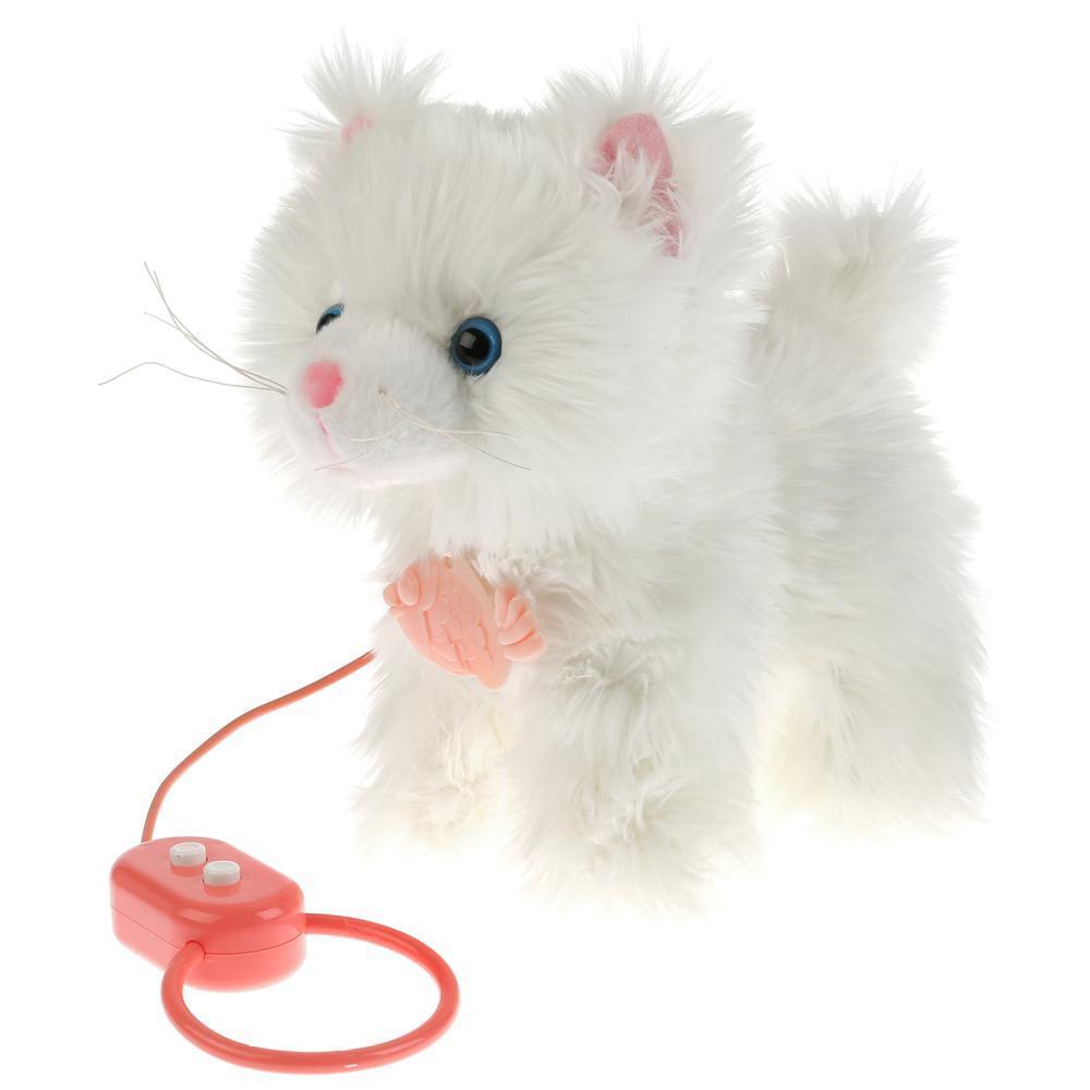 My Friends. Интерактивная игрушка - Котенок Пушок, 22см.
