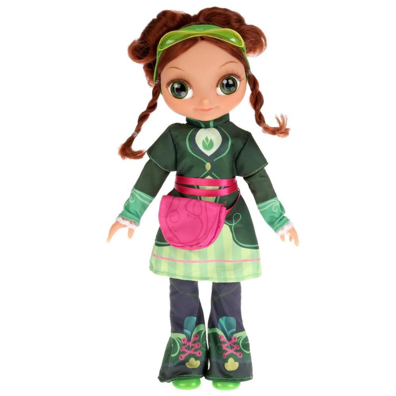 Сказочный патруль Интерактивная кукла Маша кэжуал, 32 см. 15 песен и фраз
