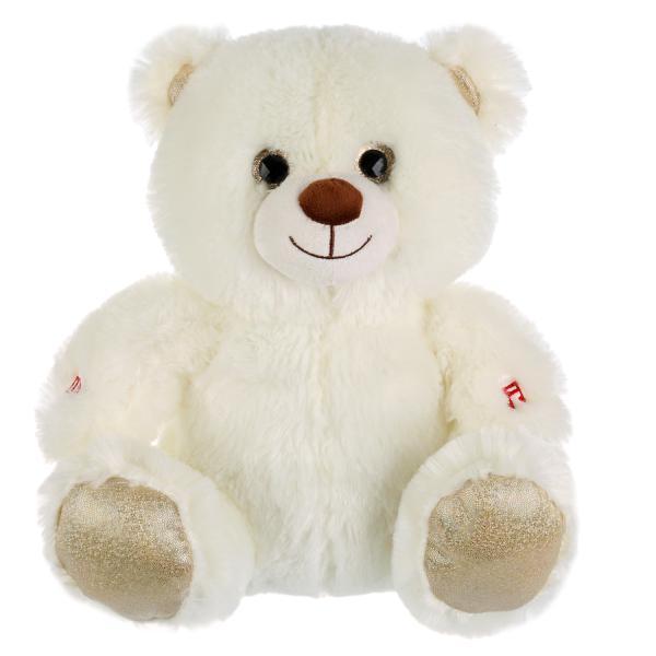 """Мульти-Пульти Мягкая игрушка - музыкальный ночник """"Лунный медвежонок"""", 30 см."""