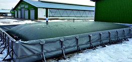 Емкости для транспортировки и хранения карбамидно-аммиачные смесей (КАС)