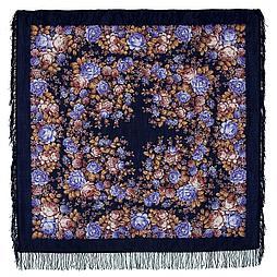 Павлопосадский платок Цветочная сказка 1458-14 (146х146 см)