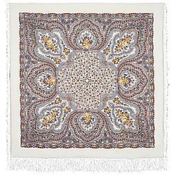 Павлопосадский платок Фея сирени 406-3 (146х146 см)