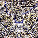 Павлопосадский платок Ларец самоцветный 762-5 (146х146 см), фото 2