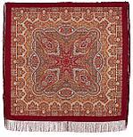 Павлопосадский платок Ларец самоцветный 762-5 (146х146 см), фото 3