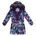 Пальто для девочек Huppa YACARANDA, лилoвый с принтом, фото 3