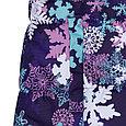 Пальто для девочек Huppa YACARANDA, лилoвый с принтом, фото 5