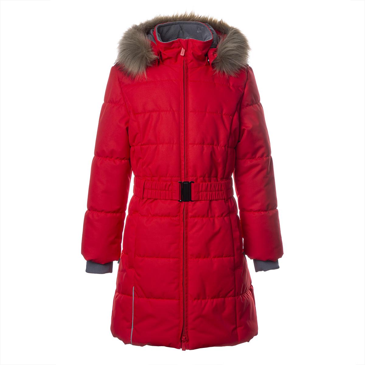 Пальто для девочек Huppa YACARANDA, красный