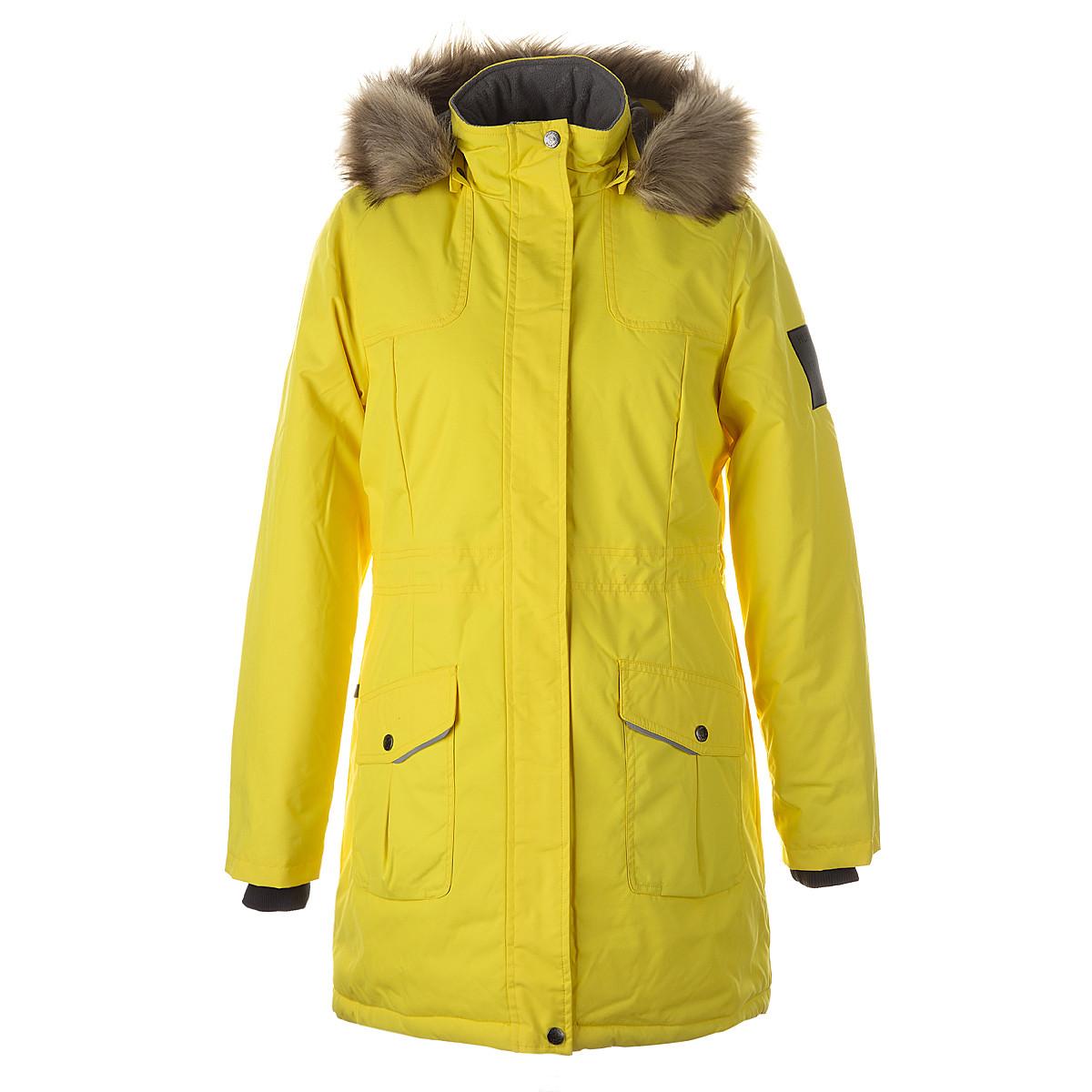 Пальто для женщин MONA 2, жёлтый XL