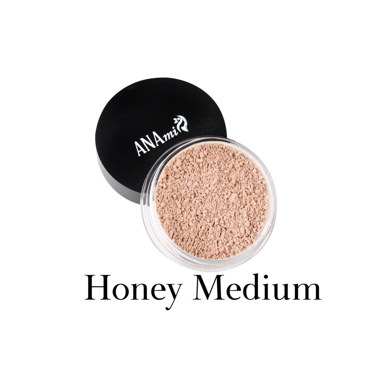Минеральная пудра Anami. Honey Medium