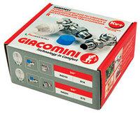 Комплект термо угловой 3/4 (термо головка, клапан) Giacomini