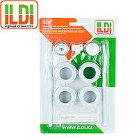 Комплект для радиаторов с кронштейнами 3/4 ILDI
