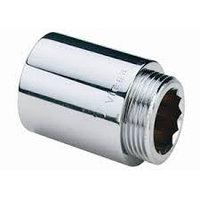 Удлинитель хромированный нр/вн 1/2 3 см