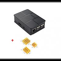 Корпус для Raspberry Pi 3, 3 B, 3 B+ с радиаторами