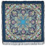 Павлопосадский платок Царевна Несмеяна 1541-2 (146х146 см), фото 2