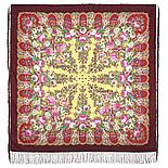 Павлопосадский платок Лукоморье 1555-7 (146х146 см), фото 3