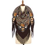Павлопосадский платок Летнее чудо 1885-5 (146х146 см), фото 2