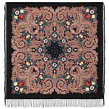 Павлопосадский платок Летнее чудо 1885-5 (146х146 см), фото 3
