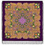 Павлопосадский платок Летнее чудо 1885-5 (146х146 см), фото 7