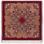 Павлопосадский платок Летнее чудо 1885-5 (146х146 см), фото 5